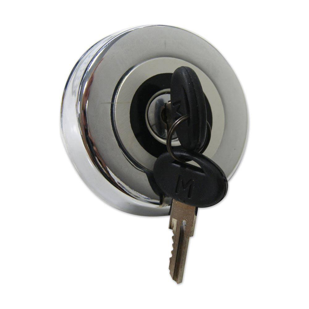 LOCKABLE FUEL CAP – CHROME