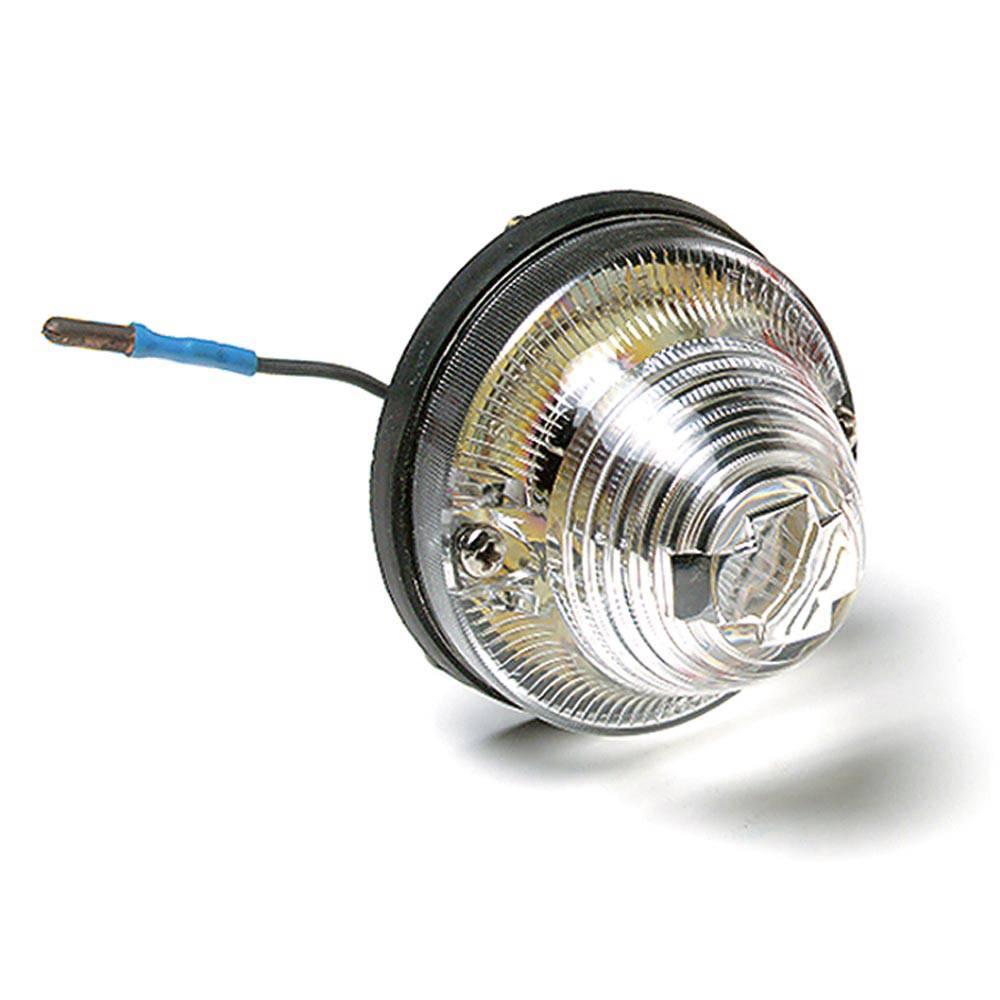 CLIGNOTANT AVANT/ARRIERE - BLANC (POUR LAMPE 2 FILAMENTS 5/21 W)