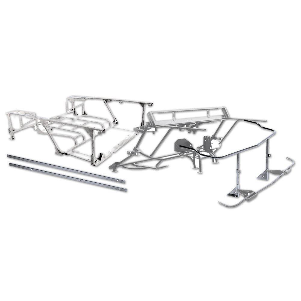 vente ensemble chassis tubulaire 4x4 galvanise 2cv mehari club cassis. Black Bedroom Furniture Sets. Home Design Ideas