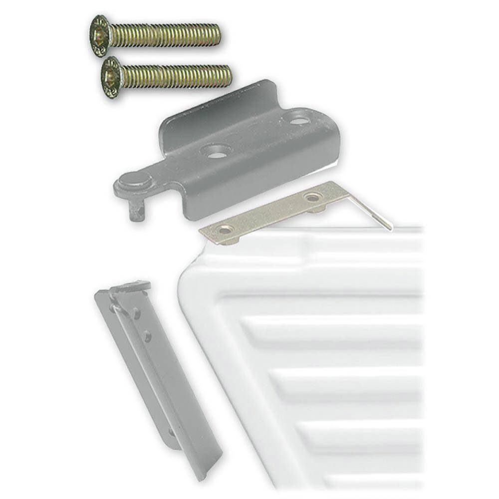 MEHARI UPPER PIVOTING DOOR HINGE PLATE SCREWS (2 PIECES)