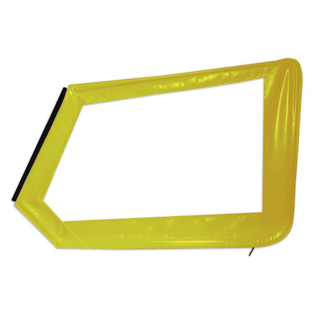 MEHARI ORIGINAL UPPER LEFT DOOR - YELLOW