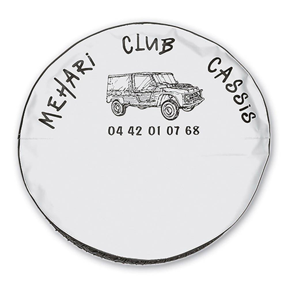MEHARI SPARE WHEEL COVER - WHITE