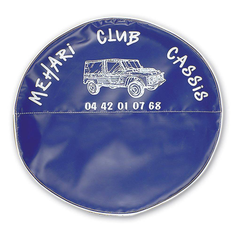 MEHARI SPARE WHEEL COVER - NAVY BLUE