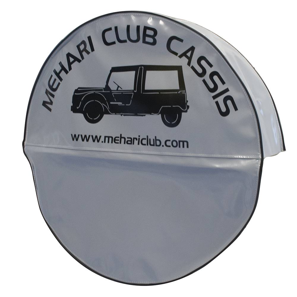 MEHARI SPARE WHEEL COVER - GREY