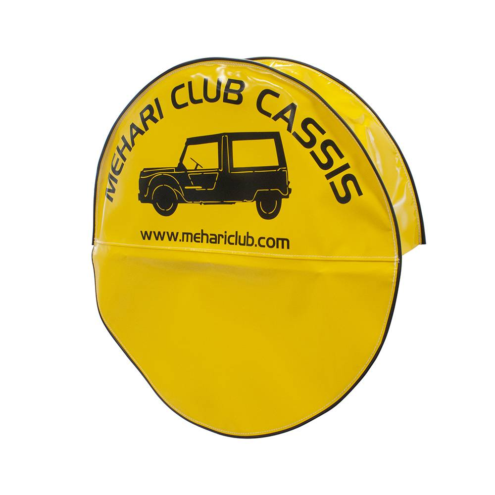 MEHARI SPARE WHEEL COVER - YELLOW