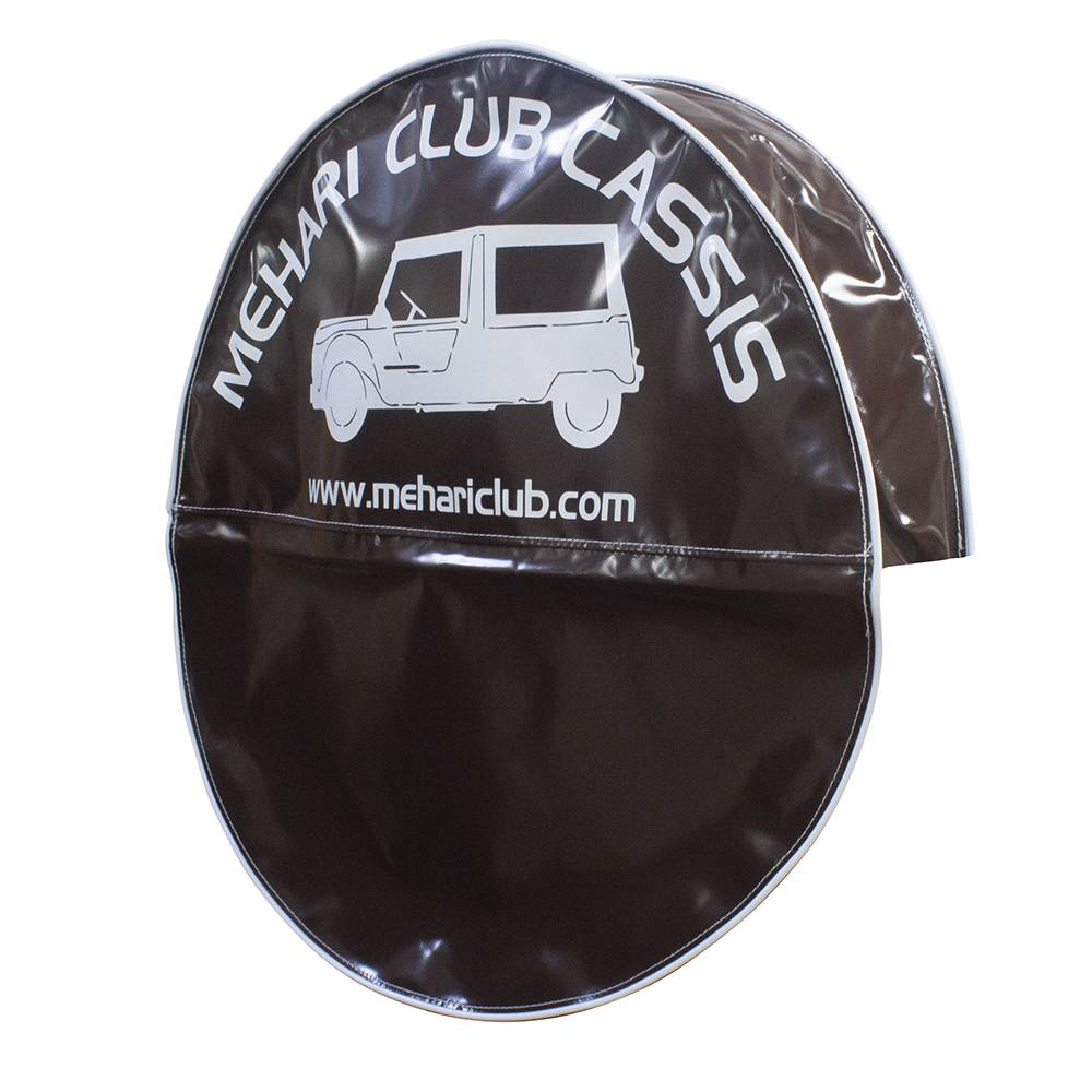 MEHARI SPARE WHEEL COVER - BROWN