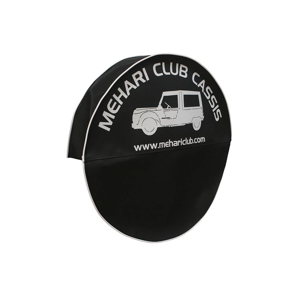 MEHARI SPARE WHEEL COVER - BLACK