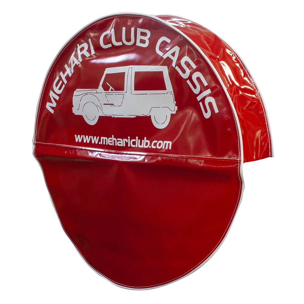 MEHARI SPARE WHEEL COVER - RED