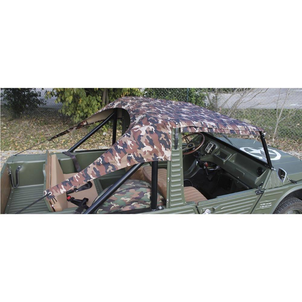 vente bache riviera mehari toile camouflage sahara mehari club cassis. Black Bedroom Furniture Sets. Home Design Ideas