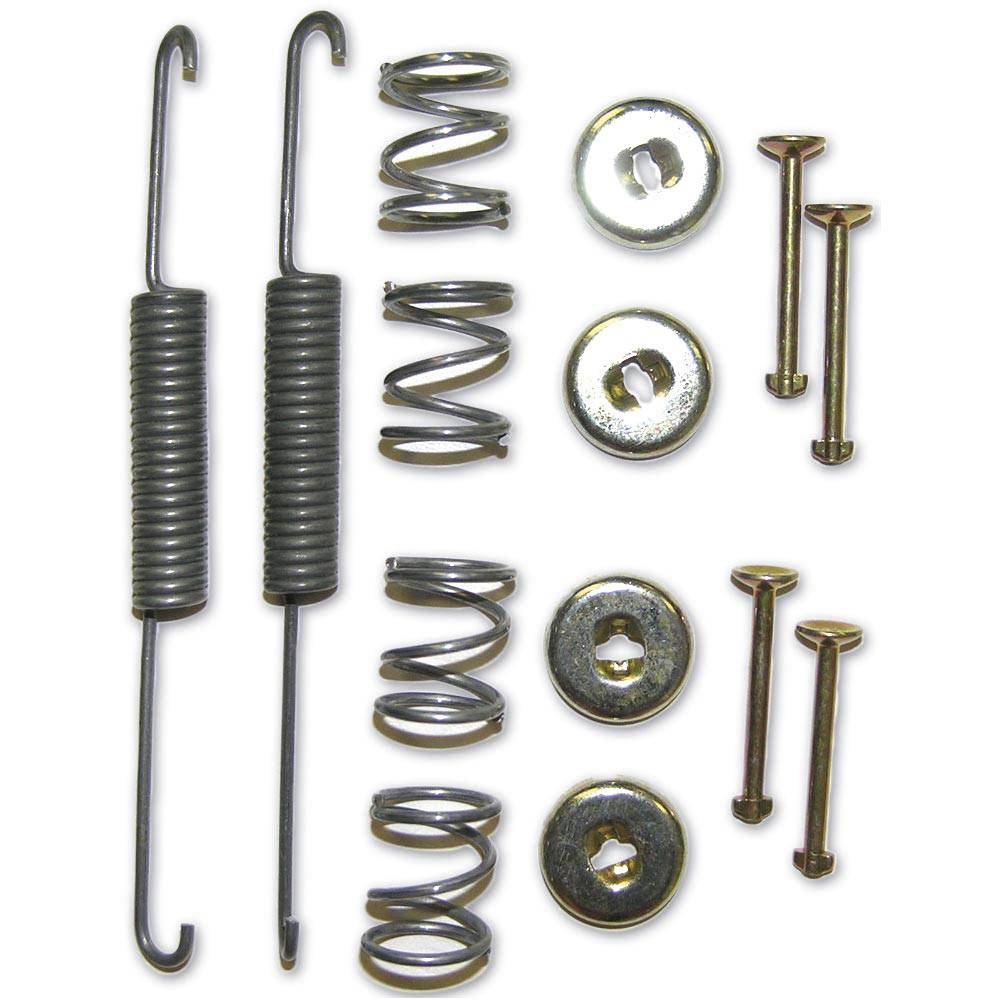 FRONT BRAKE SHOES FITTING KIT - LARGE DRUM