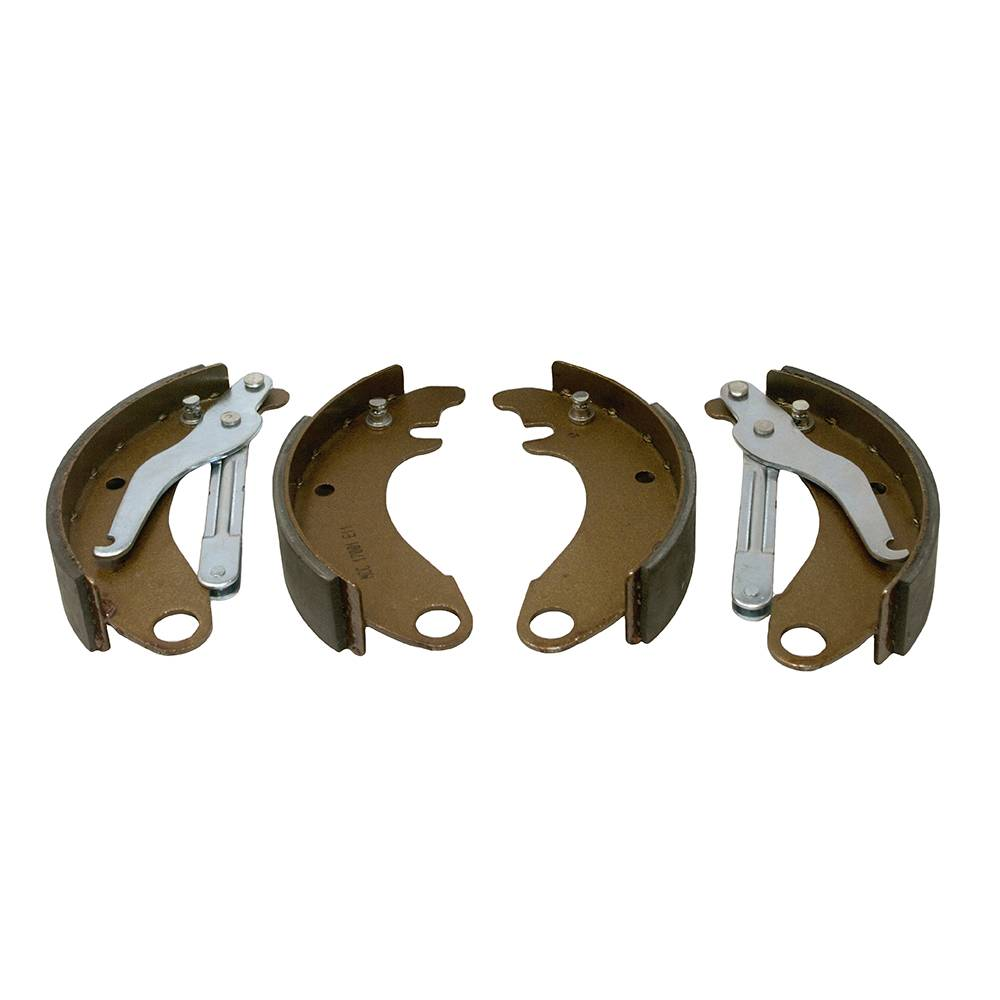 FRONT BRAKE SHOES - LARGE DRUM (4 PIECES)