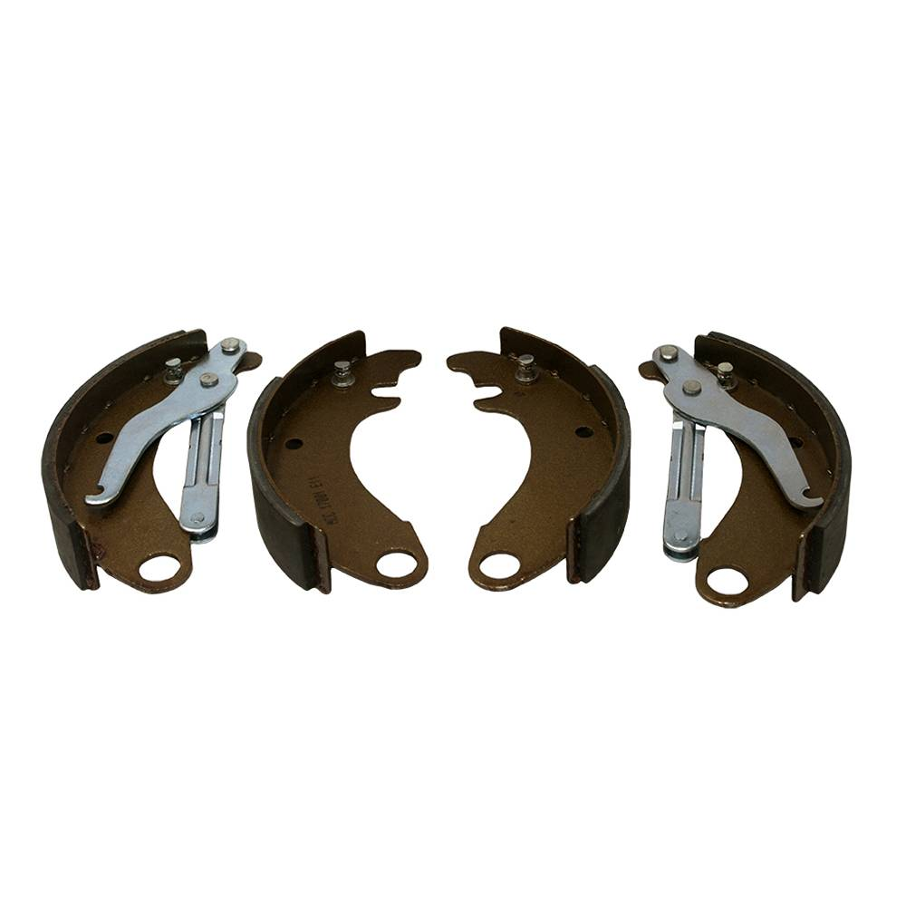 FRONT BRAKE SHOES - SMALL DRUM (4 PIECES)