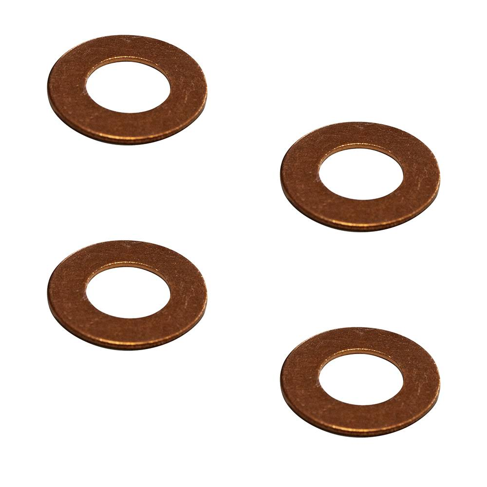 SET OF 4 WASHER FOR FLEXIBLE BRAKE PIPES (10.2X20.5X2)