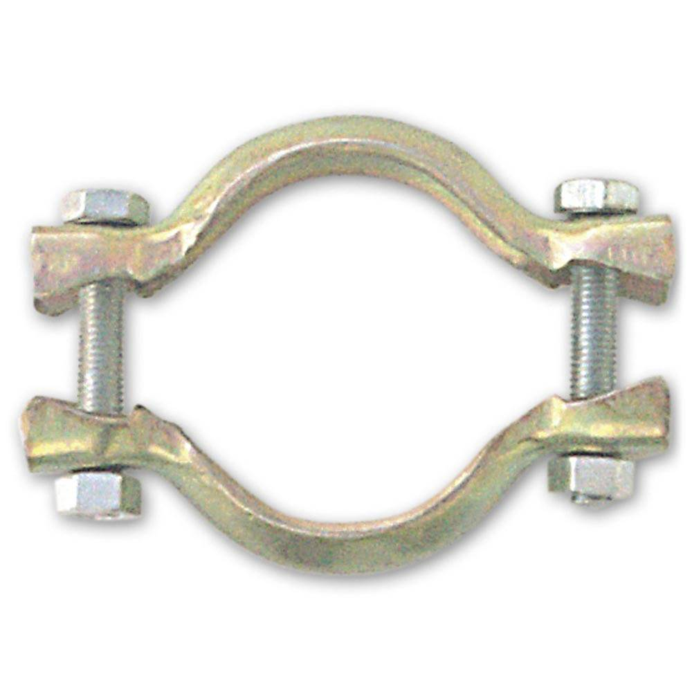 EXHAUST CROSS BOX CLAMP 49MM (1 PIECE)