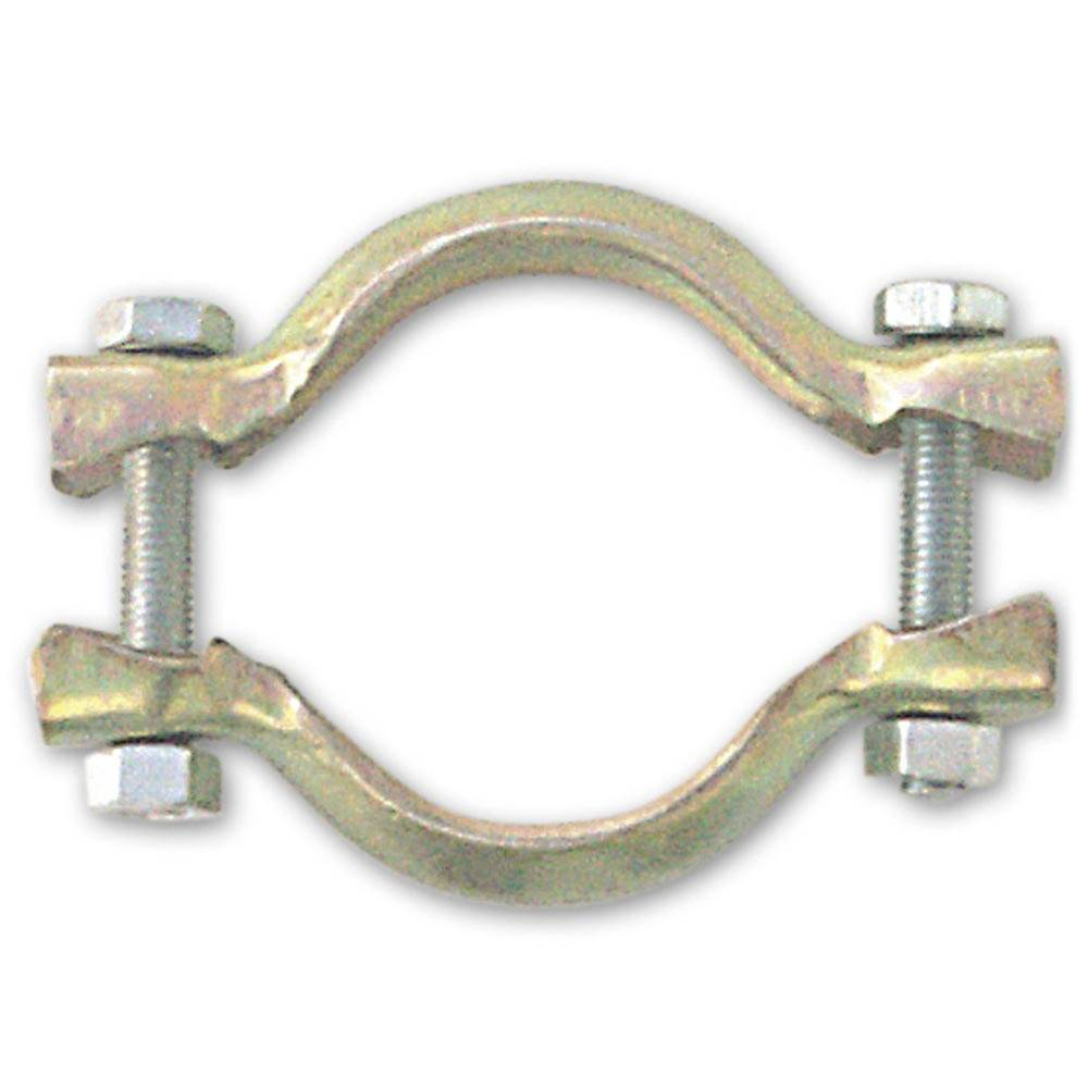 EXHAUST CROSS BOX CLAMP 47MM (1 PIECE)
