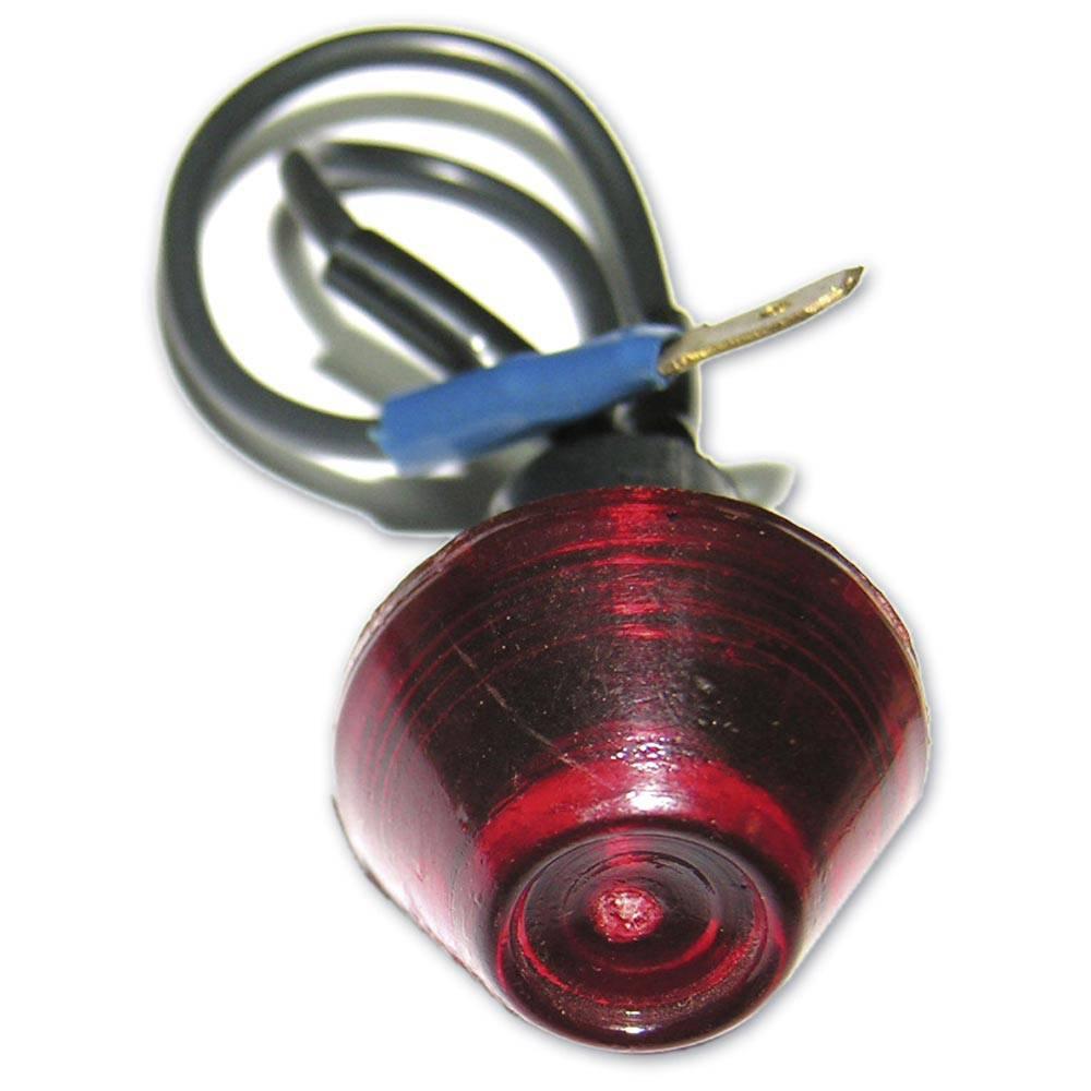 vente voyant gros diametre rouge sans ampoule 2cv mehari club cassis. Black Bedroom Furniture Sets. Home Design Ideas
