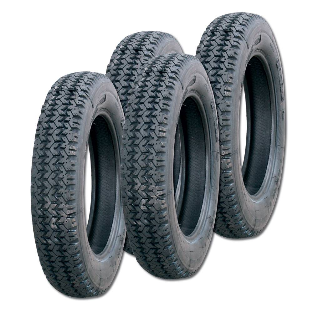 vente lot de 4 pneus 135r15 tout terrain et neige mehari club cassis. Black Bedroom Furniture Sets. Home Design Ideas