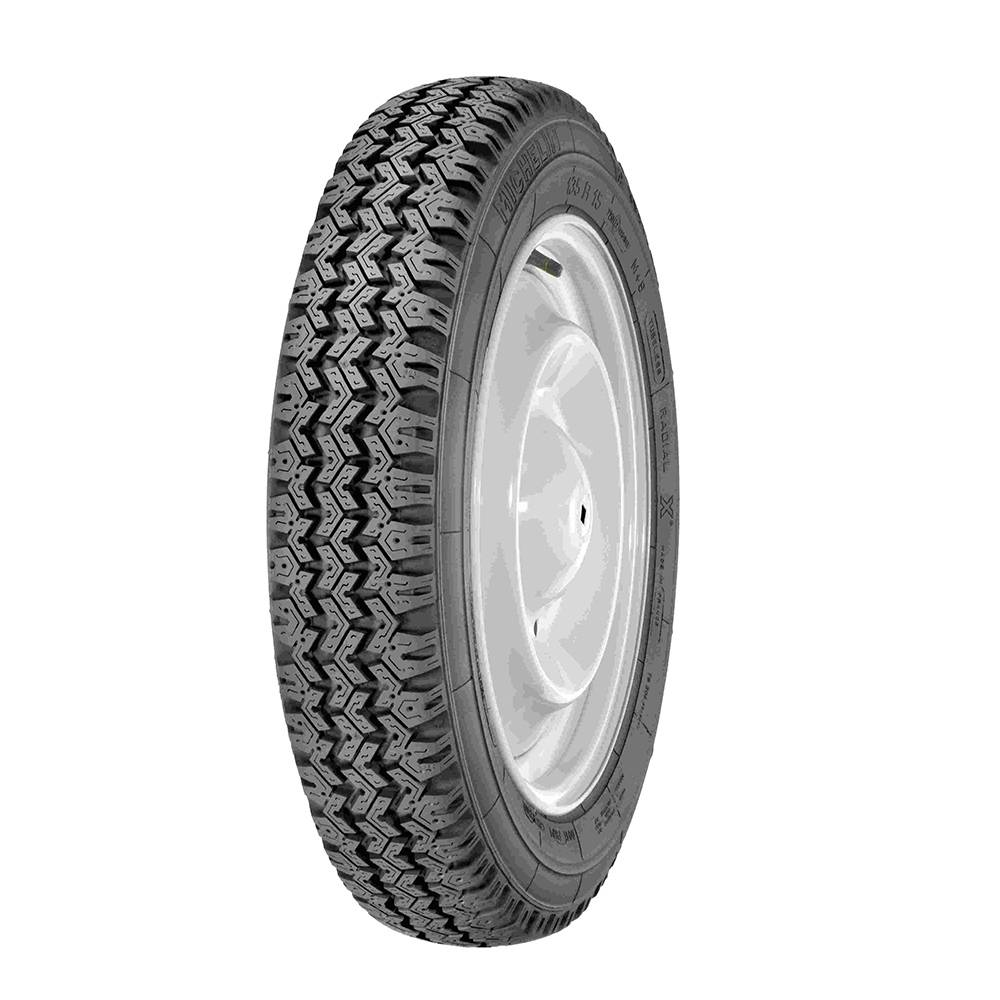ROUE COMPLETE MICHELIN 135R15 XM+S 89