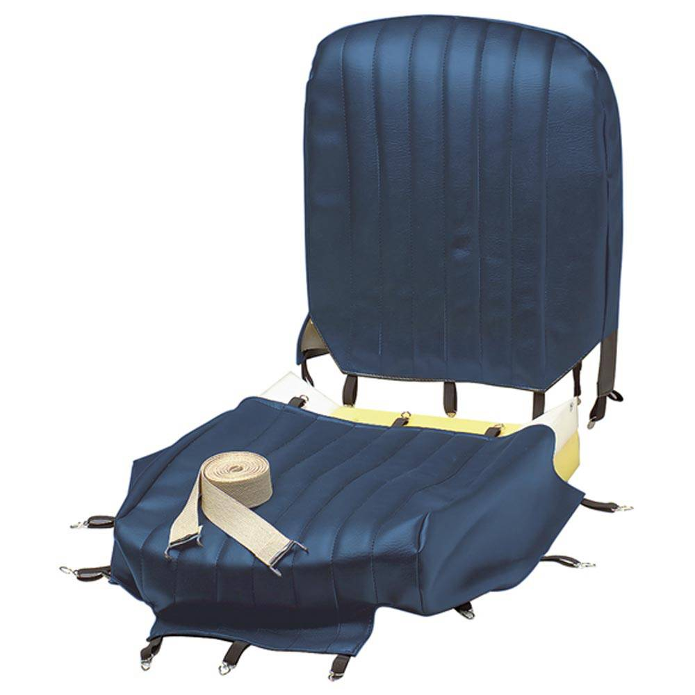 MEHARI FRONT SEAT COVER RENOVATION KIT - ABYSSE BLUE