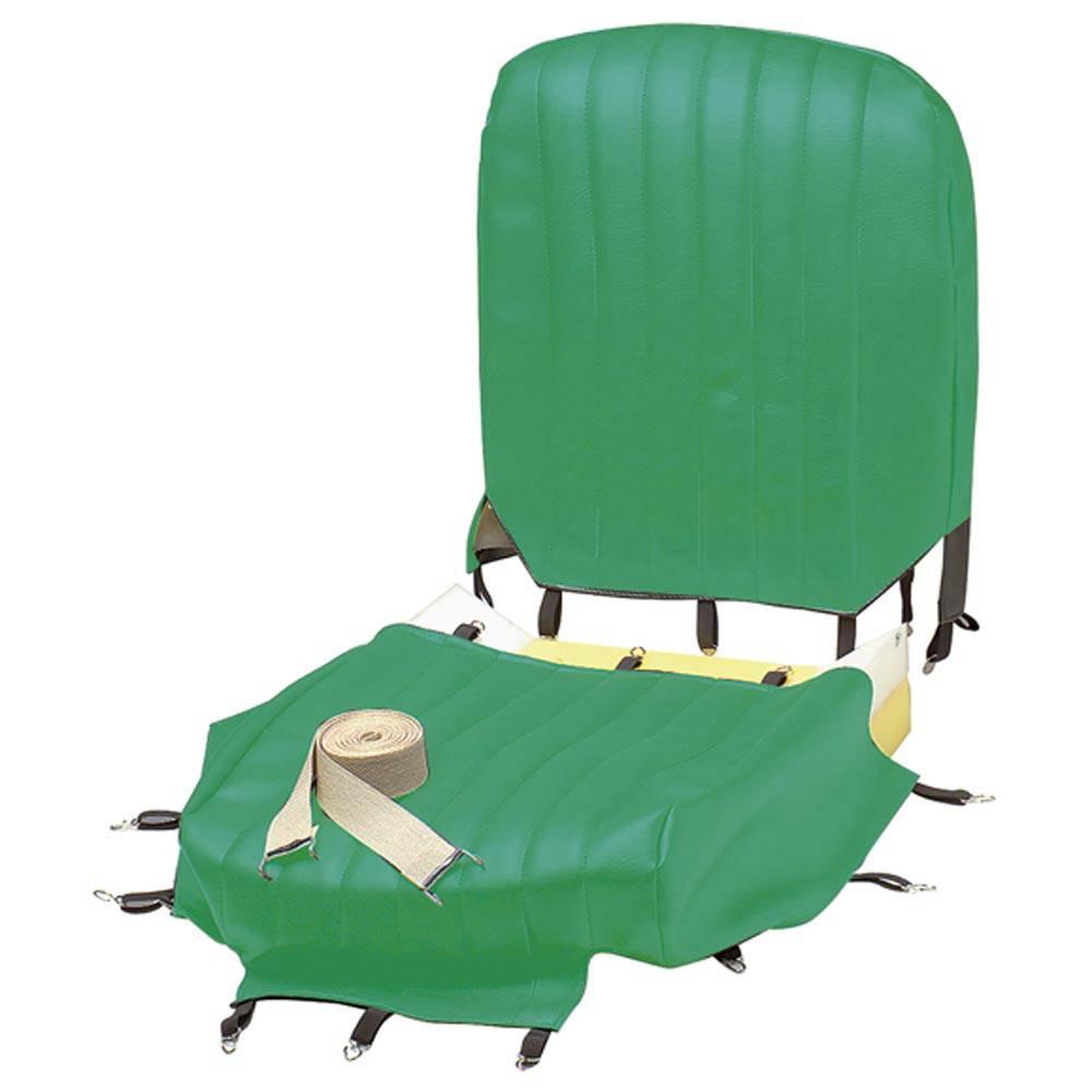 MEHARI FRONT SEAT COVER RENOVATION KIT - LAGOON GREEN