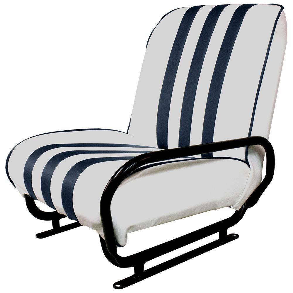 vente siege avant droit rabattable mehari blanc bleu mehari club cassis. Black Bedroom Furniture Sets. Home Design Ideas