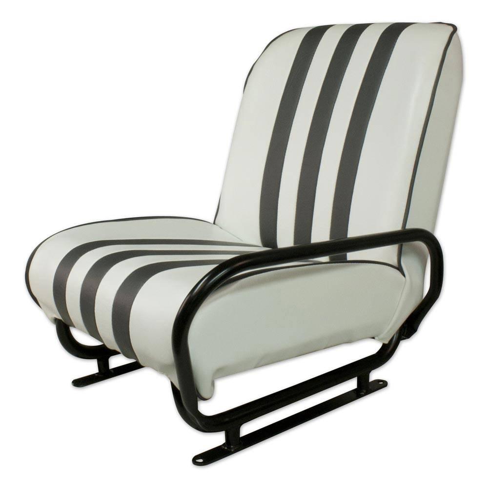 vente siege avant droit rabattable mehari blanc gris mehari club cassis. Black Bedroom Furniture Sets. Home Design Ideas