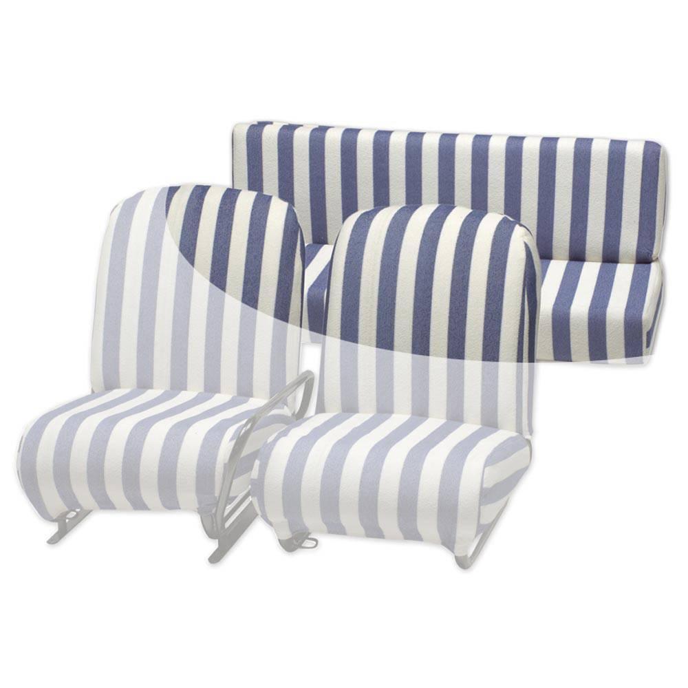 vente housse eponge siege arriere mehari blanc bleu 2cv mehari club cassis. Black Bedroom Furniture Sets. Home Design Ideas