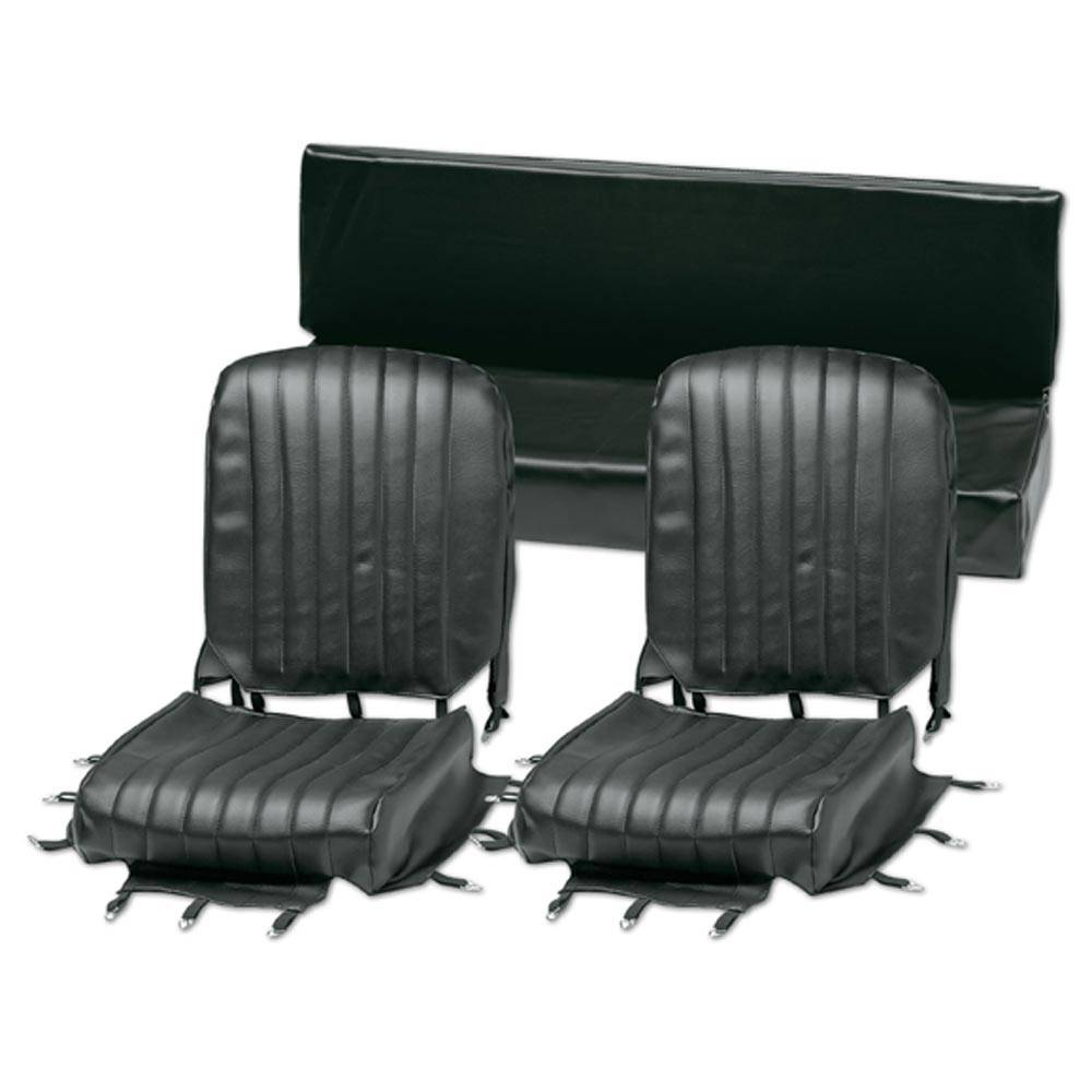 MEHARI SEAT COVER SET -  BLACK