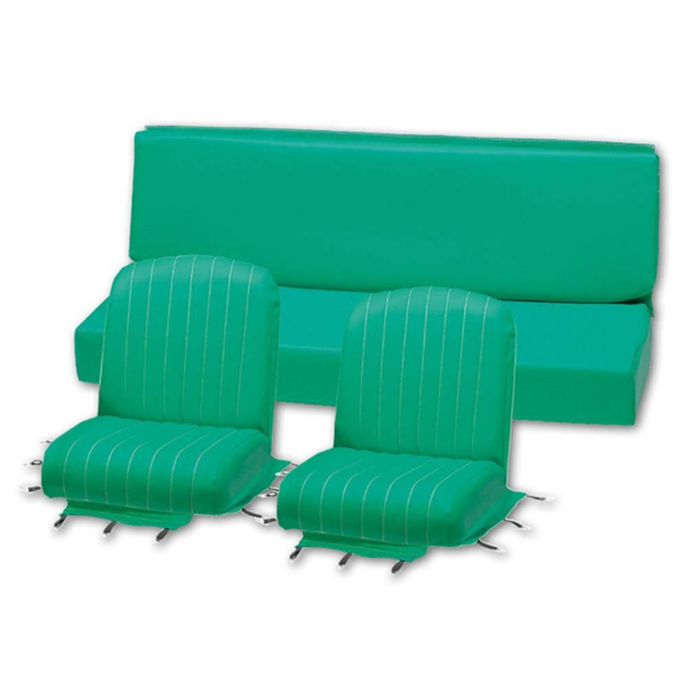 MEHARI SEAT COVER SET -  LAGOON GREEN