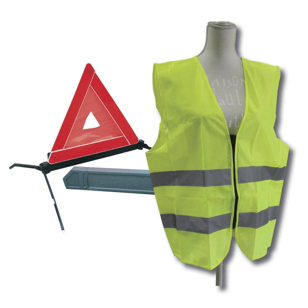 ENSEMBLE SECURITE (TRIANGLE & GILET)