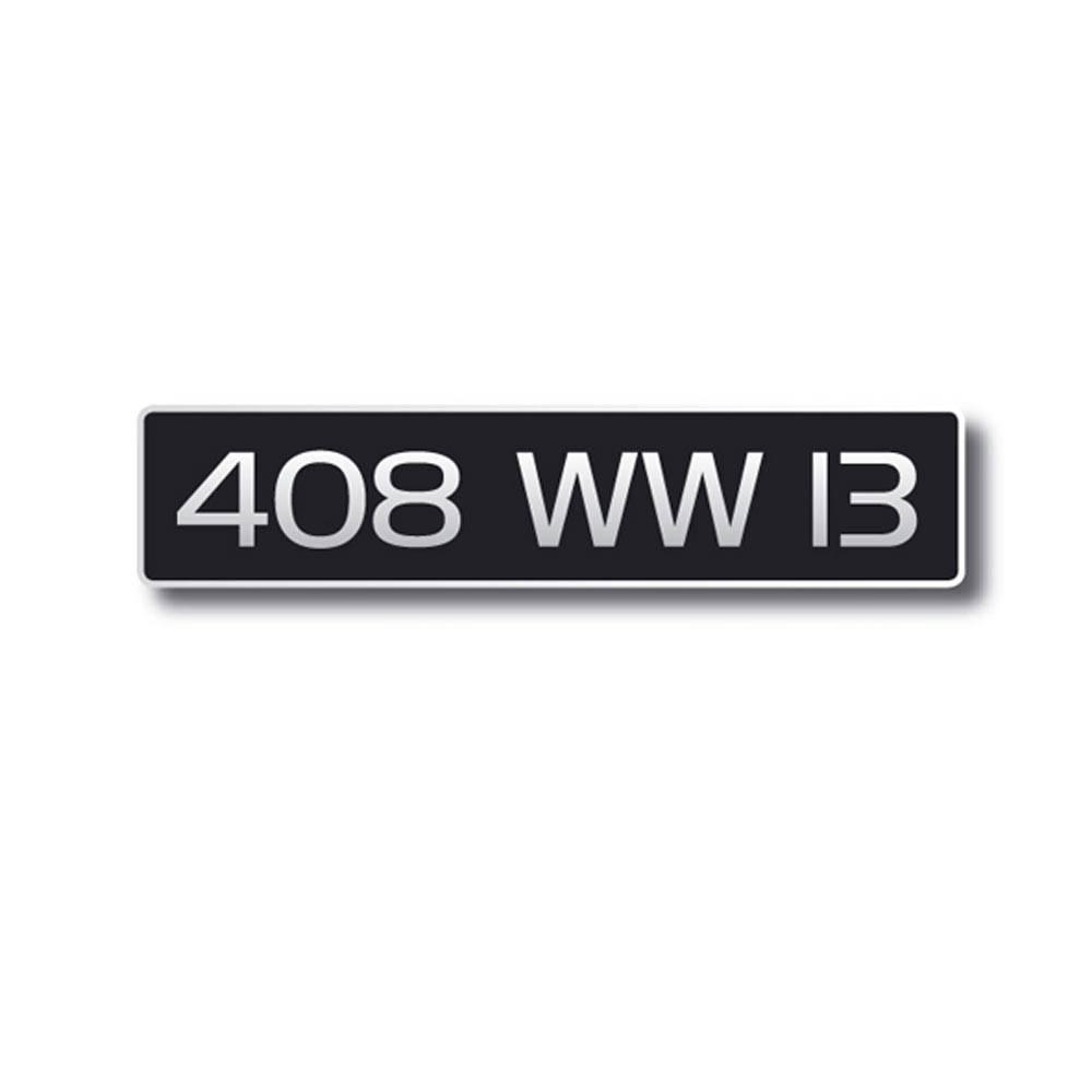 vente plaque immatriculation noire 455x100 anc immat n 2cv mehari club cassis. Black Bedroom Furniture Sets. Home Design Ideas
