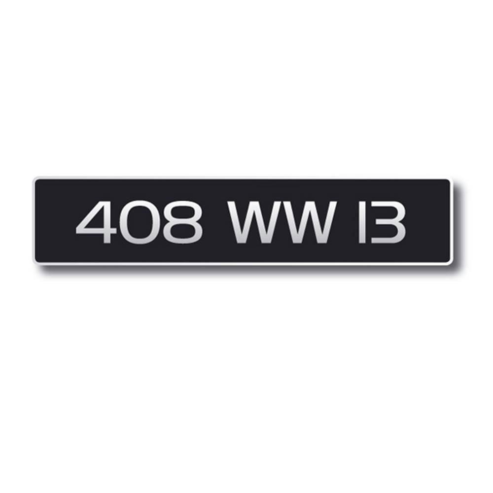 vente plaque immatriculation noire 520x110 anc immat n 2cv mehari club cassis. Black Bedroom Furniture Sets. Home Design Ideas