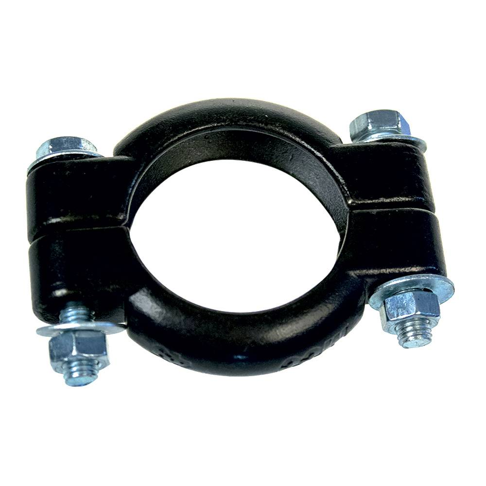 EXHAUST INLET CLAMP DIA. 49MM (1 PIECE)