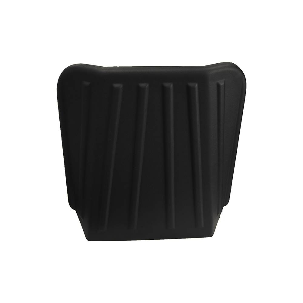 MEHARI FRONT SEAT REAR HARD PLASTIC PROTECTION – BLACK