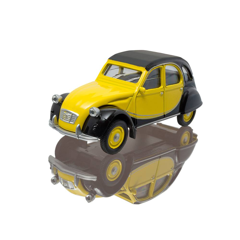 MINIATURE CITROEN 2CV – CHARLESTON YELLOW