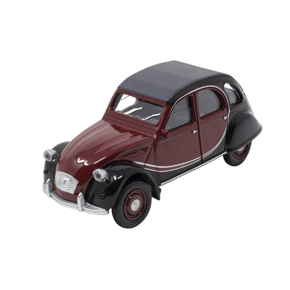 MINIATURE CITROEN 2CV CHARLESTON BORDEAUX