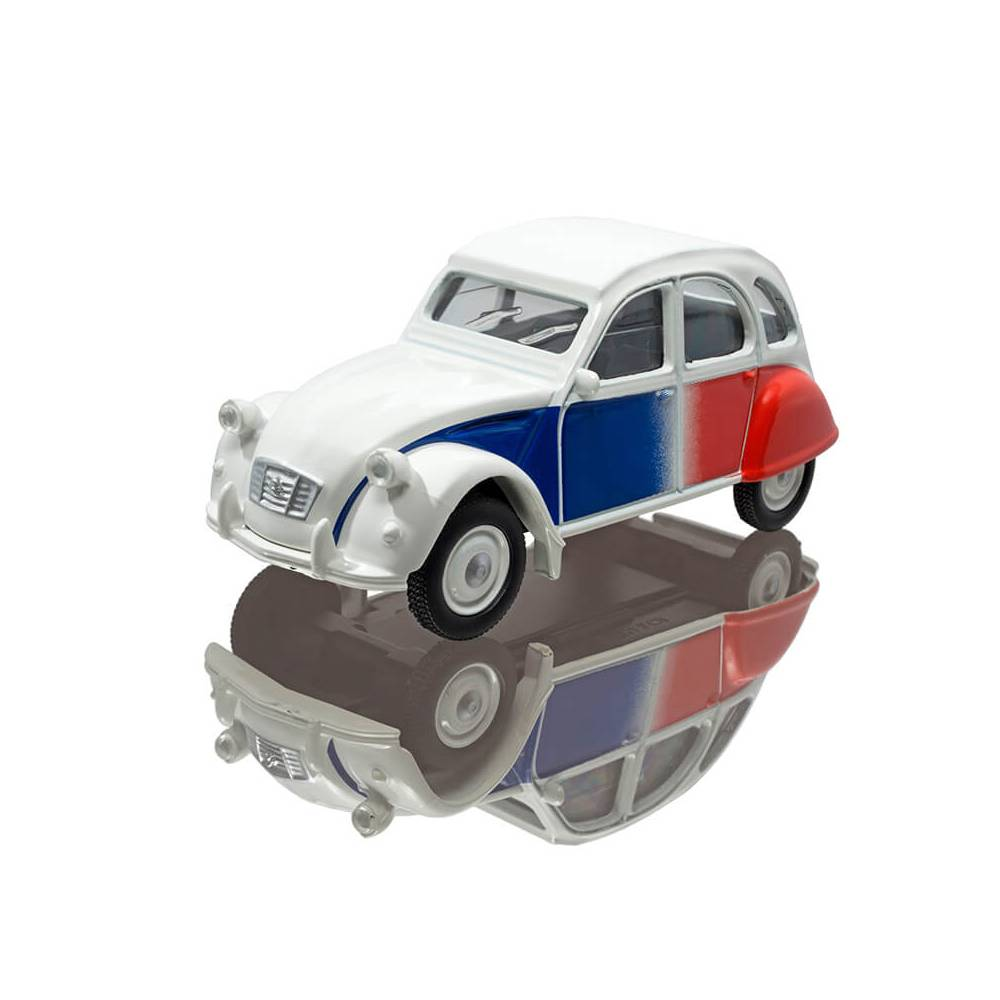 MINIATURE CITROEN 2CV COCORICO