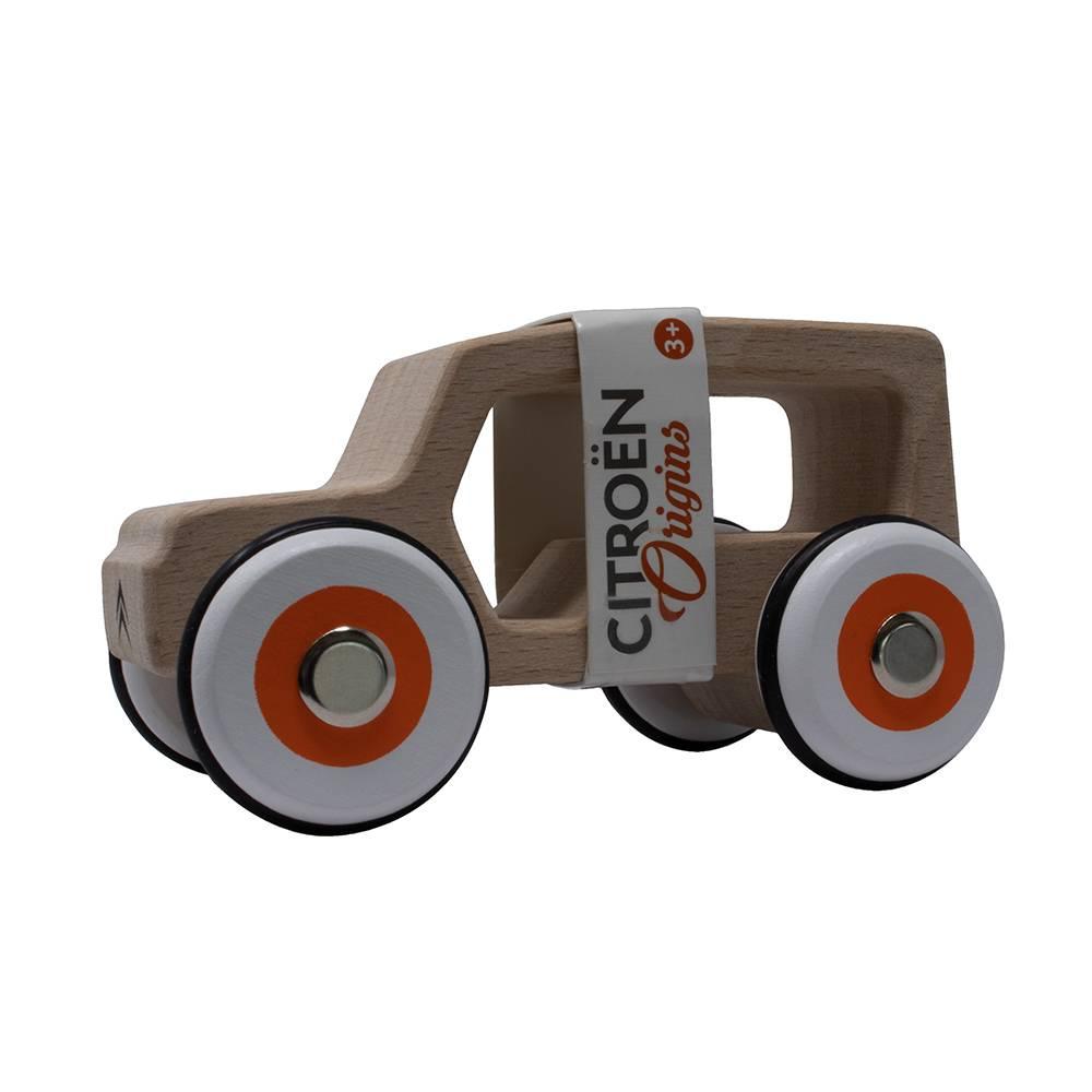 Miniature bois Méhari Citroën origins