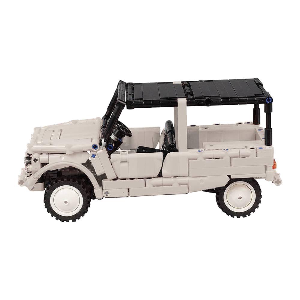 Méhari Lego blanche - 1/15