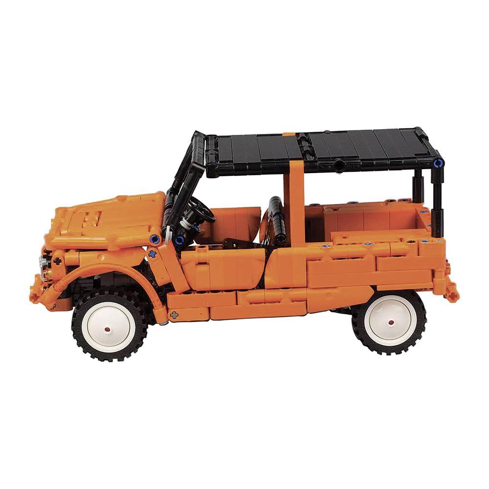 Méhari Lego orange - 1/15