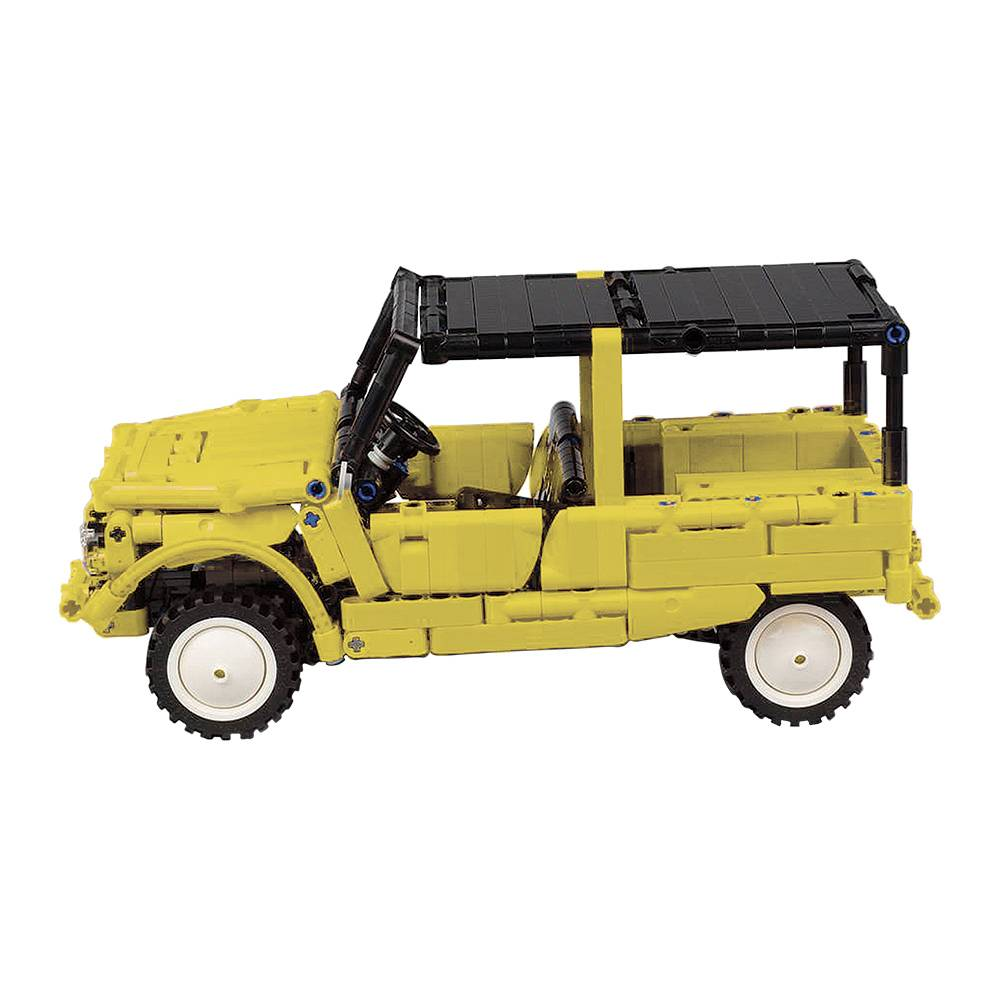 Méhari Lego jaune - 1/15