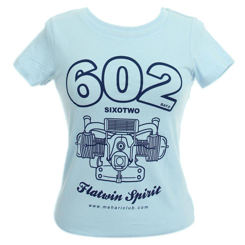 T-SHIRT FEMME 602 MARINE TAILLE XS