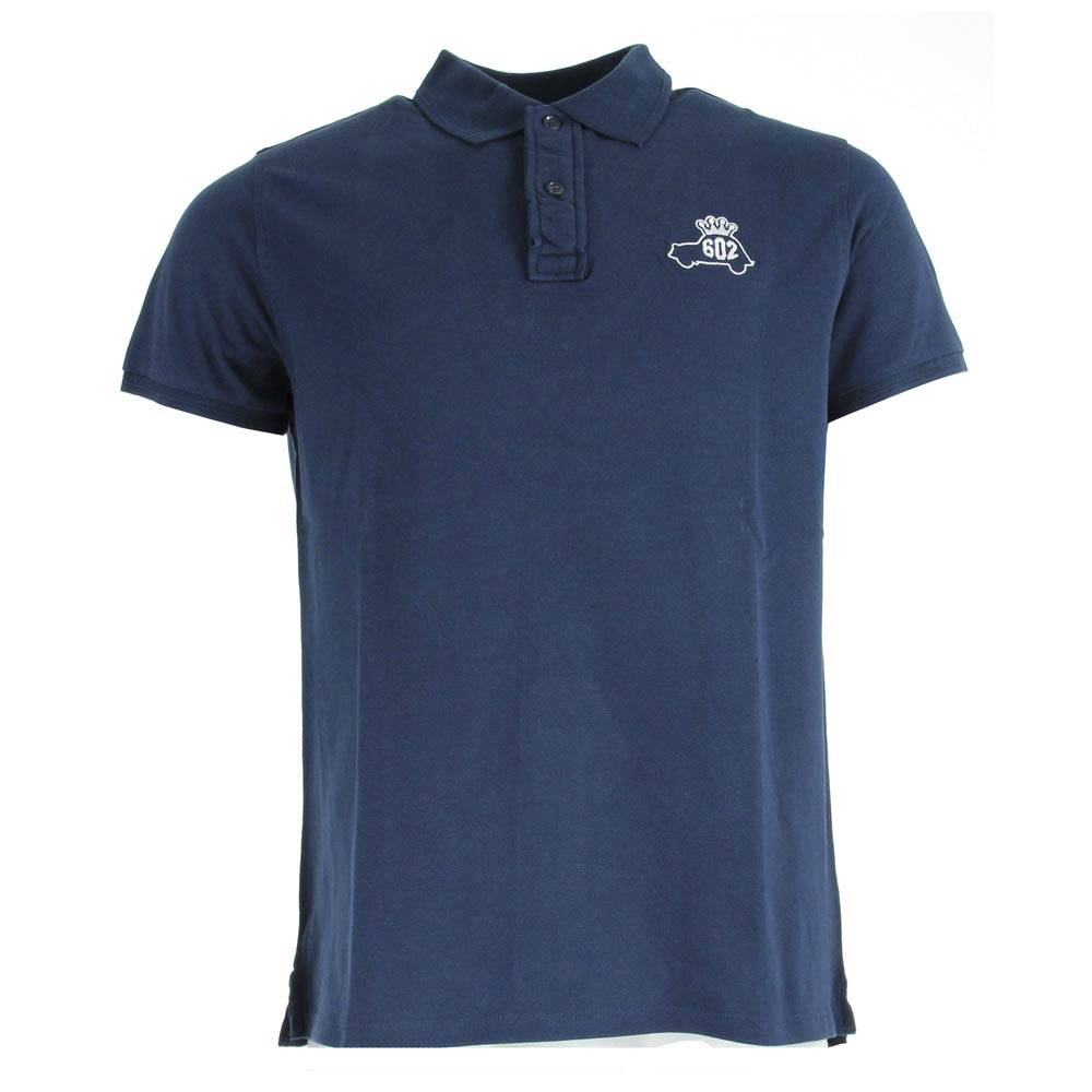 POLO HOMME2CV COEUR MARINE TAILLE L