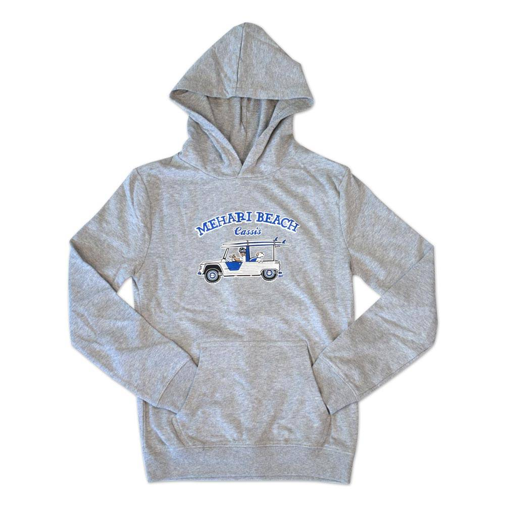SWEAT ZIPPE ENFANT GRIS TAILLE 7/8ns