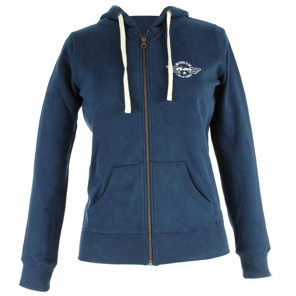 SWEAT ZIPPE FEMME NAVY TAILLE S