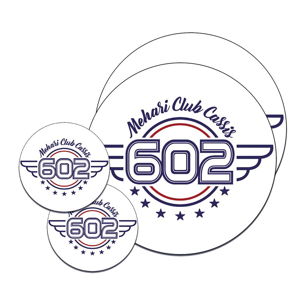 "KIT STICKERS ""602"""