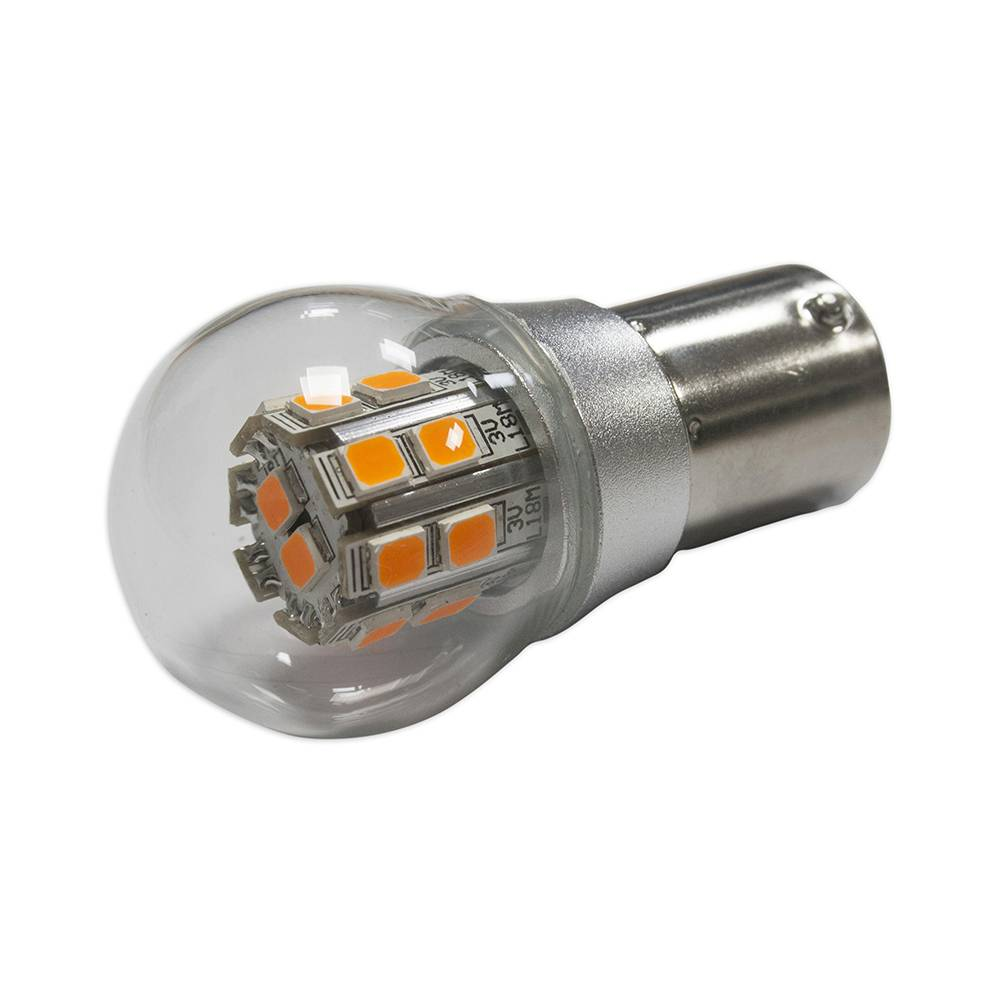 LÁMPARA LED 6 / 12V 21W NARANJA