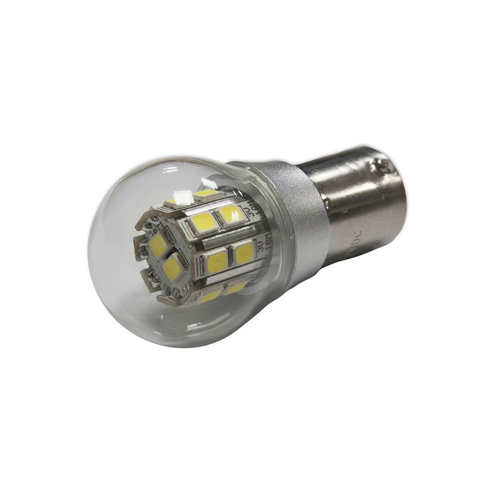 LED LAMP 6/12V 5/21W - WHITE