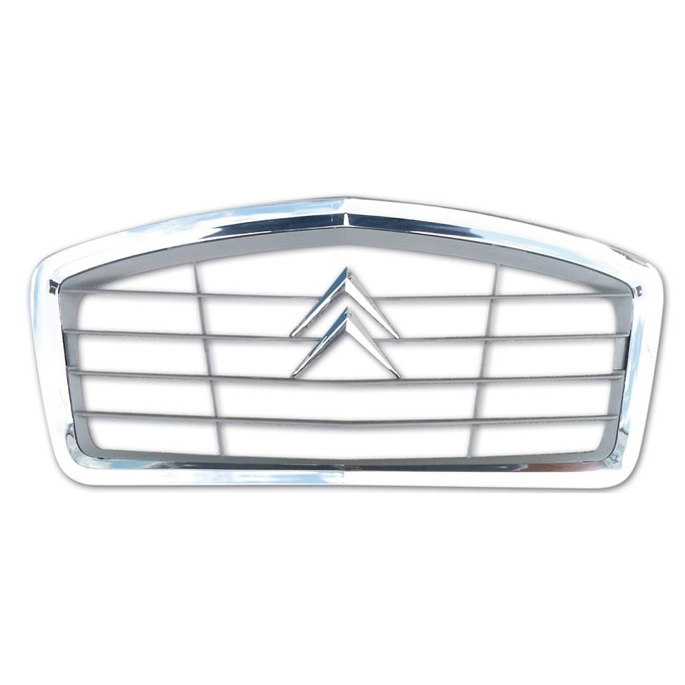 2CV ORIGINAL GRILLE - GREY WITH CHROME BORDER