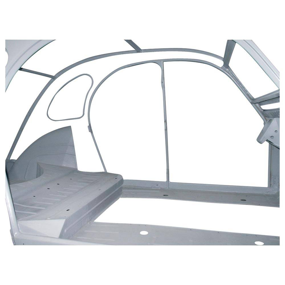 HABILLAGE INT. CAISSE 2CV NOU MOD (6 pieces)       BLANC